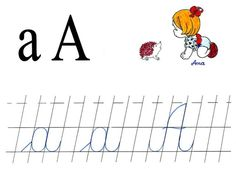 Literele a mic si A mare de mana Teacher Supplies, Montessori, Coloring Pages, Alphabet, Preschool, Classroom, Activities, Verona, Cards