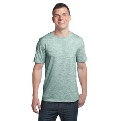 Extreme Heather Crew Tee DT1000 – District Clothing Online Store