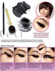 Korean makeup tutorial Gain  www.piccassobeauty.net