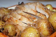 Intrusa na Cozinha: Lombo de porco assado com vinho do Porto