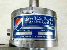 BURKE-4-MILL-MILLING-MACHINE-RARE-VERTICAL-3C-COLLET-MILLING-ATTACHMENT
