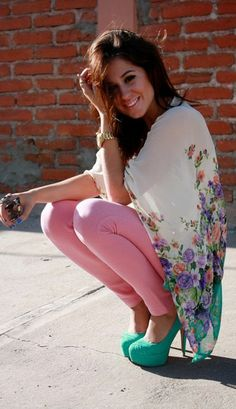 summer outfits, cute and colorful