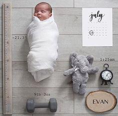 baby flat lay