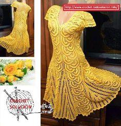 Vestidos Tejidos en crochet Vestidos-Tejidos-en-crochet Vestidos-Tejidos-en-crochet