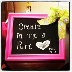 Bible verse picture frame
