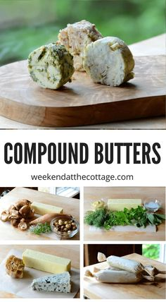 Take your next BBQ to another level with Compound Butters. They also go great on your favourite steamed or grilled veggies. #grilling #compoundbutter #bbq #veggies