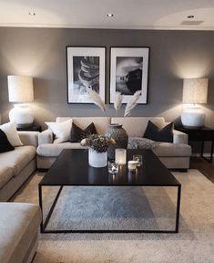 Fantastic cozy living room design ideas you need to try -., Fantastic cozy living room design ideas you need to try – MagzHome, Fantastic ideas for a, Living Room Paint, Cozy Living Rooms, Home Living Room, Apartment Living, Living Room Designs, Cozy Apartment, Living Room On A Budget, Living Room Interior, Design Salon