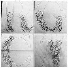 Letter tooling WIP #sketch#sketch#sketch