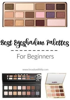 The Best Eyeshadow Palettes for Beginners