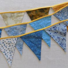 Reversible bunting, home decor, wall ornament, party decor