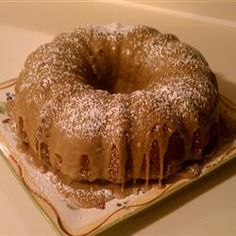 Mother's Applesauce Cake Recipe
