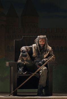 Khary Payton as Ezekiel - The Walking Dead _ Season 7, Episode 3 - Photo Credit: Gene Page/AMC
