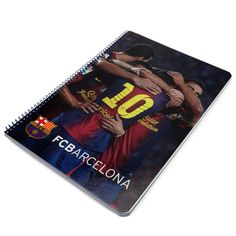 barcelona A4 notebook FC Barcelona Official Merchandise Available at www.itsmatchday.com
