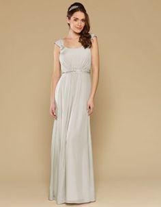 Lainie Dress - Silver Wedding Dress from Monsoon Bridesmaid Simple Lace Wedding Dress, Stunning Wedding Dresses, Monsoon Bridesmaid Dresses, Bridesmaids, Bridesmaid Ideas, Girls Dresses, Flower Girl Dresses, Prom Dresses, Lace Dresses