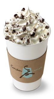 campfiremocha at caribou coffee, my most favorite drink!