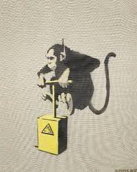 Resultado de imagen de banksy obras Banksy, Disney Characters, Fictional Characters, Dogs, Art, Pet Dogs, Doggies, Fantasy Characters