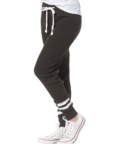 Take a look at this Charcoal Game Day Joggers - Plus Too today!