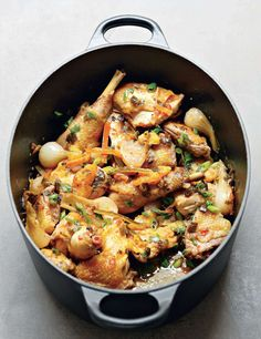 Corn-fed chicken and durum semolina with citrus by Alain Ducasse from Nature | Cooked
