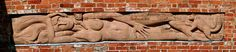 Delapre Abbey - woman and cat (c) R Neil Marshman