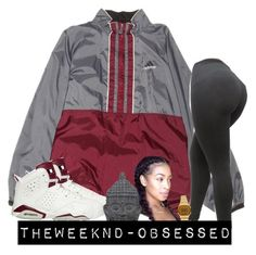 """//"" by theweeknd-obsessed ❤ liked on Polyvore featuring adidas, Casio and Three Hands"