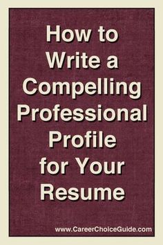 Whenever you haven't updated your resume shortly, it's not easy to understand how to start. What encounters and accomplishments in the event you include for that jobs you have your skills on? Resume Help, Job Resume, Resume Tips, Resume Ideas, Resume Layout, Resume Examples, Sample Resume, Professional Profile Resume, Resume Profile