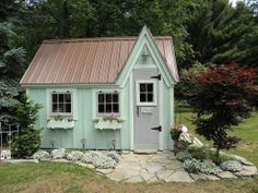 """""""Mirabella and Isadora's Cottage"""" - I want a chicken coop that looks like this!"""