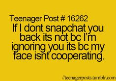 Teenager Posts... omg this is soooo true!!