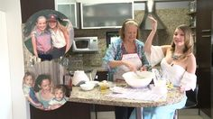 Entre recetas y anécdotas Alexandra Braun y su mamá, Ilse, desean un ¡Fe...
