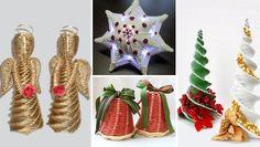Christmas Knitting, Basket Weaving, Christmas Ornaments, Holiday Decor, Paper, Free, Craft, Christmas Jewelry, Christmas Decorations