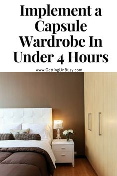 Does your closet stress you out? Feel like you have so many clothes but never have anything wear? You need to try the Capsule Wardrobe. Read how I implemented it in less than 4 hours.