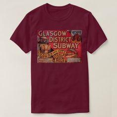 #vintage - #Vintage Glasgow City Subway T-Shirt