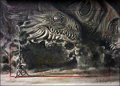 Dragonstone's Fireplace by DavidDeb.deviantart.com on @DeviantArt