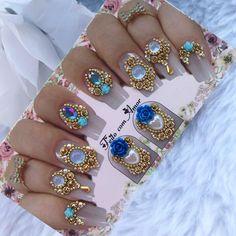 Nicole By Opi, Gem Nails, Nail Jewelry, Color Club, Crystal Nails, Nanami, Nail Art Diy, Sally Hansen, China Glaze