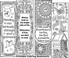 color your own bookmarks free printable bookmarks for coloring just download and print coloring pencils art readi