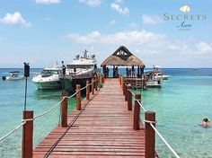 Are you planning a snorkel, scuba or fishing tour during your stay at Secrets Aura Cozumel? You can depart right from our pier!