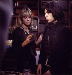 Anita Pallenberg and Mick Jagger / Performance (1970)