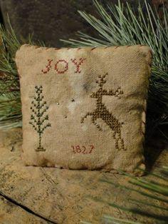 Joy - Tree - Reindeer.  Repinned by www.mygrowingtraditions.com