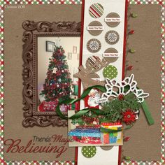 Created with Season of Joy by Juno Designs and Reindeer Games v.1 by keepscrappin designs.