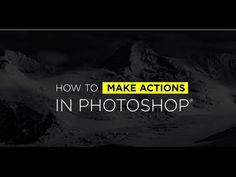 How to Create Actions in Photoshop - Video Tutorial with Ben Willmore - CreativeLive Blog