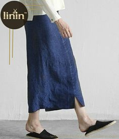 The charm of pencil skirt: Linen Split Pencil Skirt(SKU: LininB067) Link:bit.ly/2bWQnlV #linen #skirts #pencilskirts #linenskirts #dailylook #fashion #fashionblog #fashionblogger #womenfashion #style #stylish #womenstyle #womenwear #discount #coupon #couponcode #promotion #custommade #handmade #sale #photo #freeshipping #newarrivals #in #flattering