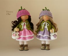 Мими Chiffon, Handmade Toys, Crochet Hats, Dolls, Christmas Ornaments, Holiday Decor, Projects, Crafts, Inspiration