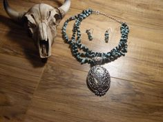 Gypsy Cowgirl Chic Turquoise Howlite Black by gypsycowgirlchic save 25% use code 25off at checkout!