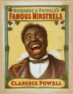 entertainment poster design- late 1890s/early 1900s