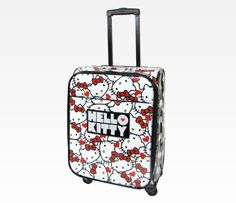 Hello Kitty Rolling Luggage: Face