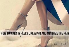 How to Walk In Heels Like A Pro And Minimize The Pain (Male to Female Transgender / Crossdressing Tips)