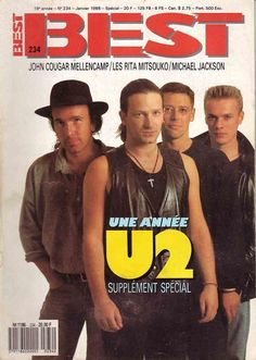 U2 - BEST Magazine N° 234 [France] (January 1988)