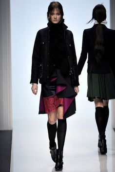 Sacai | Fall 2012 Ready-to-Wear Collection | Vogue Runway