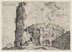 Hieronymus Cock, First View of the Colosseum, 1551