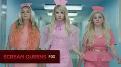 """Pin for Later: Lea Michele Goes Full Hannibal in This Scream Queens Season 2 Teaser The First Teaser . . . Is here! The short clip teases that the Chanels are """"Putting the Mad Diva in M.D."""""""
