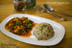 Piccante Vegatali Riso @  #GoItalia Address: No 36, next to Panasonic Building, 8th Main Road, Koramangala 4th Block. Call: 080-41515858 #Cafes #Classy #restaurants #Food #CityShorBengaluru